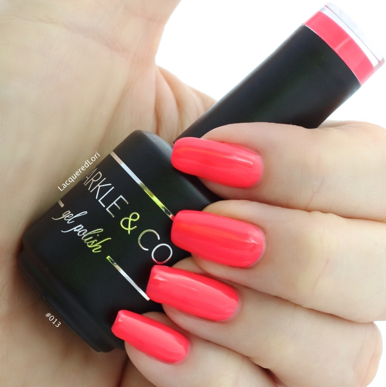 Put your sunglasses on because #013, a neon coral by Sparkle & Co at OceansofBeauty.com is eye-searing! Breathtaking shade!